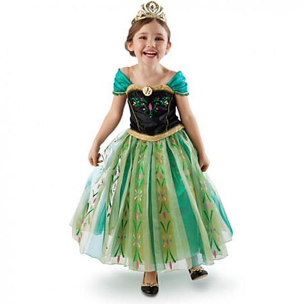 Fabulous Frozen prinses Anna jurk groen - Feestwinkel Elburg.nl - Frozen  FH-46