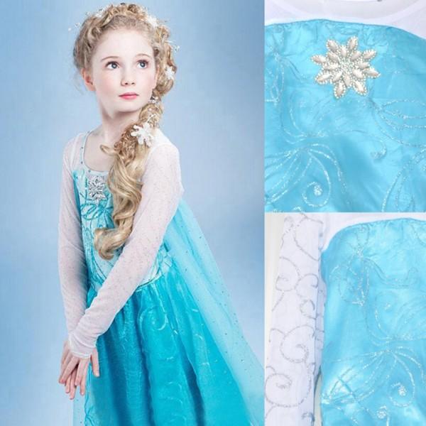 Frozen Prinses Elsa Jurk Met Sleep Feestwinkel Elburg Nl